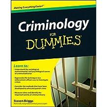 Criminology For Dummies®