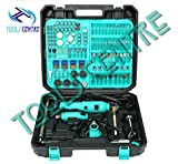 TOOLS CENTRE EXCLUSIVE ALL IN ONE 350 PCS COMBO ROTARY TOOLKIT , GRINDING & POLISHING DIY TWO ELECTRIC DIE GRINDER ,ENGRAVING MACHINE SANDING & CUTTING MACHINE, DREMEL TOOLS.