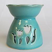 Tulip Design Oil Burner - Green preisvergleich bei billige-tabletten.eu