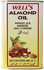 Wells Almond Oil 800 Ml