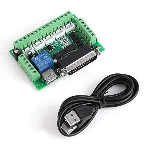 Preisvergleich Produktbild Huihuiya CNC 5-Achsen-Interface Breakout Board für Schrittmotortreiber CNC-Mühle MACH3as das Bild zeigt
