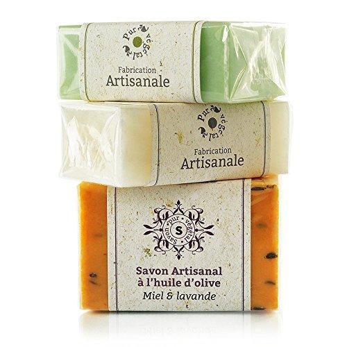 ⭐️ Savon naturel artisanal à l'huile d'olive ⭐️ - 125g - Fabriqué en Provence (France)...