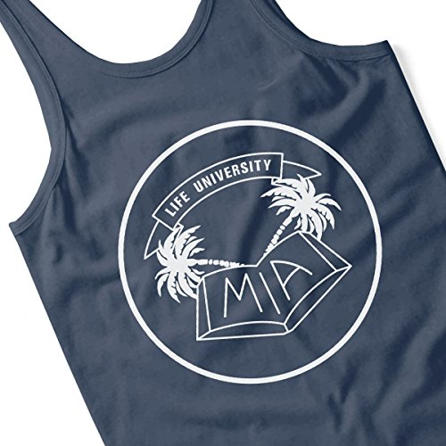 MIA Life University White Men's Vest Navy Blue