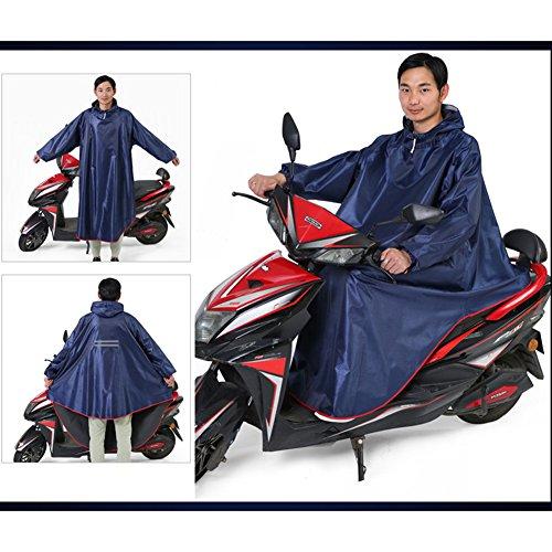 XKS Doppelseitige Kapuze Mit Ärmeln Erwachsene Männer Und Frauen Single Thicken Bike Regenjacke Motorrad Poncho,#3