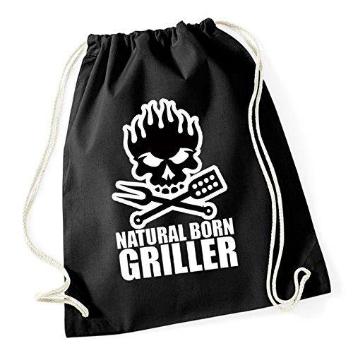 Certified Freak Natural Born Griller Gymsack Black