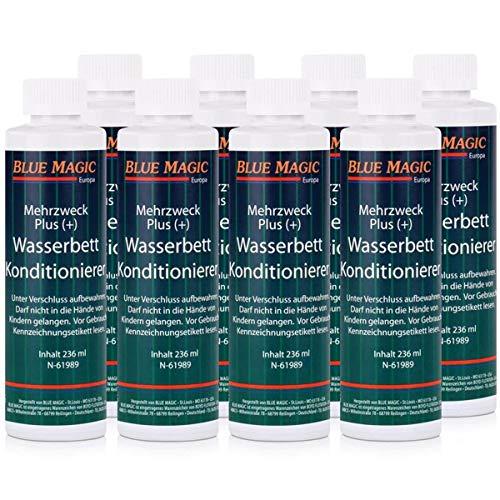 Blue Magic Wasserbett Konditionierer 8x 236ml Sparpaket Mehrzweck Plus(+) -