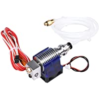 Verilux® E3D V6 Hot End Full Kit 1.75mm 12V Bowden/RepRap 3D Printer Extruder Parts Accessories 0.4mm Nozzle