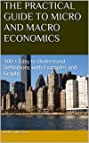 THE PRACTICAL GUIDE TO MICRO AND MACRO ECONOMICS: 300 + Easy to Understand Definitions with Examples and Graphs (A Practical Guide Book 2)