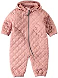 Name it Mädchen Baby Overall Wagenanzug NITQUILT WHOLESUIT 13141105 rose tan Gr. 86-92