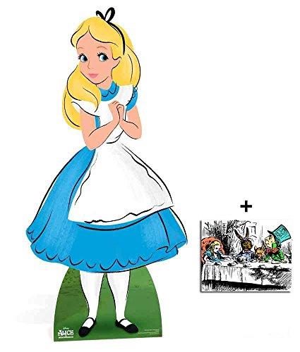 Preisvergleich Produktbild Alice von Alice im Wunderland Disney Lebensgrosse Pappaufsteller - mit 25cm x 20cm foto