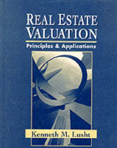 Pdf Download Real Estate Valuation Principles And Applications