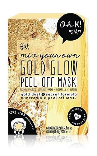 Oh K! Mischen Sie Ihre eigene Goldmaske