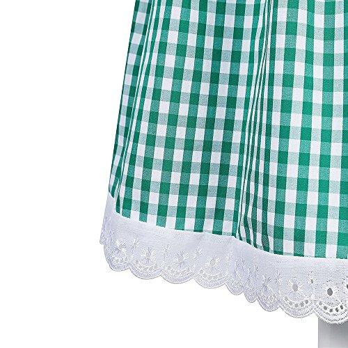 3tlg. Dirndl, Canvalite Damen Oktoberfest 3tlg.Dirndl Set - Trachtenkleid, Bluse, Schürze B