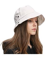 bc02e4499ccd2 FDSjd Moda de Primavera y Verano Pescador Sombrero Protector Solar Japonés  Marea literaria Sombrilla Sombrero Mujer
