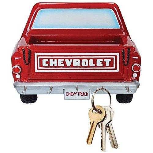Chevy Pickup Truck 3D männliche Schlüssel Rack w/5Haken und Bett zu halten Kleine Gegenstände (Pickup-truck Racks)