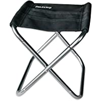 Datechip Mini Folding Chair for Children, Small Portable Stainless Steel Fishing Seat Lightweight camping stool, Compact, Heavy Duty, Ideal for Travel Camping Hiking Festival Garden Barbecue Beach Backpacking Outdoor Use
