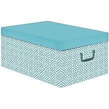 Compactor Nordic – Caja de cartón, Color Azul báltico, ...