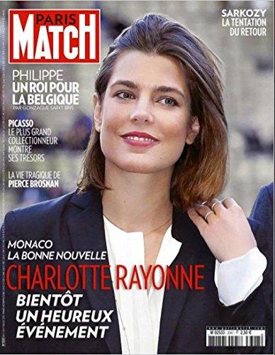 Paris Match n° 3347 du 11 Juillet 2013 - Charlotte Casiraghi (couv'), Anne-Claire Coudray (4p), Usain Bolt (2p), Philippe : le nouveau Roi des Belges, Picasso et le plus grand collectionneur du monde