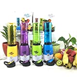 #5: ShoppoWorld Mini Juicer Shake n Take Fruit Mixer and Smoothie Maker Multi Function Extractor Blender Household Travel Cup (Multi Color - As Per Availability)