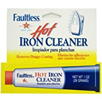 Faultless Hot Iron Soleplate Cleaner & Burn Remover by Faultless