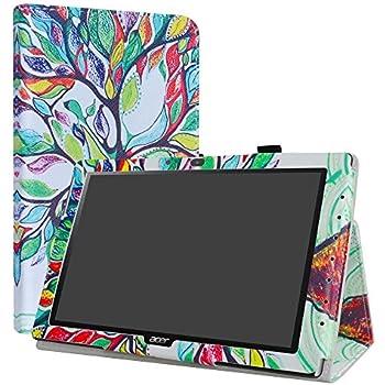 Lovewlb Tablet Custodia per Acer Iconia One 10 B3-A32 Custodia Pelle Stand Case Cover SJ