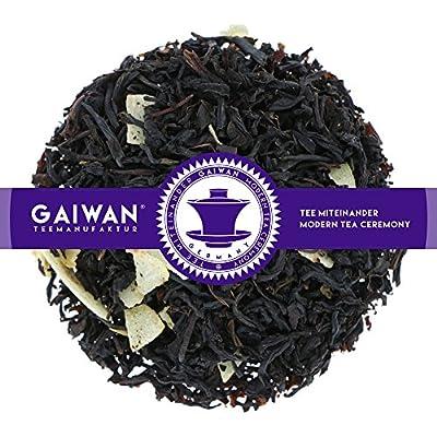 """N° 1152: Thé noir """"Noix de coco"""" - feuilles de thé - GAIWAN® GERMANY - thé noir de Ceylan, Chine, flocons de noix de coco"""