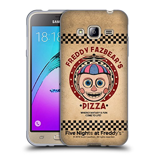 Official Five Nights At Freddy's Balloon Boy Freddy Fazbear's Pizza Soft Gel Case for Samsung Galaxy J3