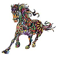 TOOGOO(R) Colour Diversity Horse Wall Sticker Home decoration Personalized Animal creative Nursery or Living Room
