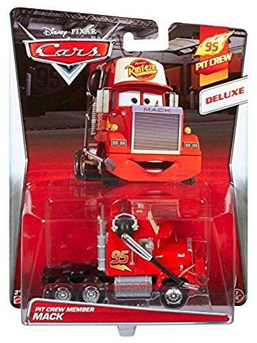 Disney Pixar Cars Deluxe Vehicles - Pit Crew Member Mack (Cjn04) (Disney Cars 2-pit Crew)
