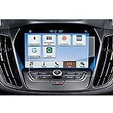 LFOTPP Ford C-Max/Grand C-Max 8 Zoll Navigation Schutzfolie - 9H Kratzfest Anti-Fingerprint Panzerglas Displayschutzfolie GPS Navi Folie