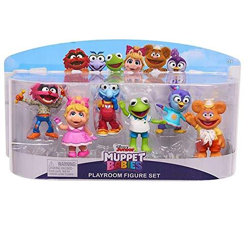 Disney Muppet Babys Spielzimmer 6 Figur Spielset
