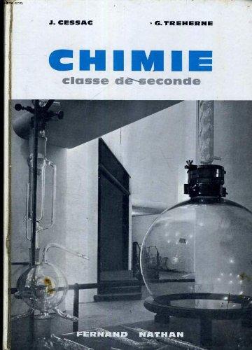 CHIMIE - CLASSE DE SECONDE