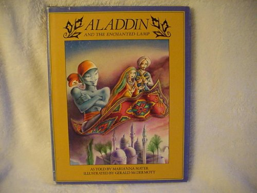 Aladdin and the enchanted lamp.