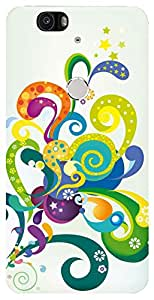 WOW Printed Designer Mobile Case Back Cover For Huawei Nexus 6P