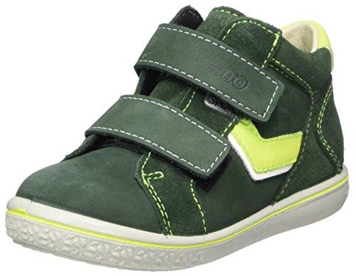 Ricosta Jungen Laif Hohe Sneaker, Grün (Oliv), 25 EU