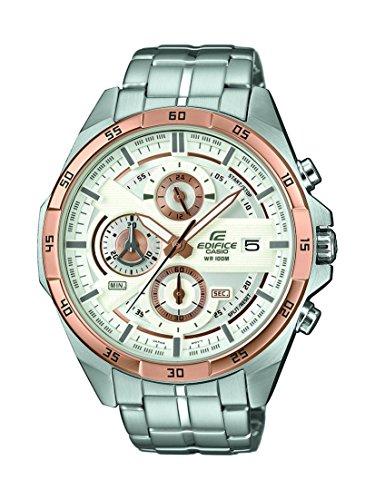 Casio Reloj Cronógrafo para Hombre de Cuarzo con Correa en Acero Inoxidable EFR-556DB-7AVUEF