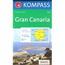 Gran Canaria carte de randonnée 1:50.000 KOMPASS N ° 237