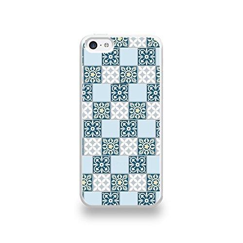 coque-apple-iphone-5c-silicone-motif-carreaux-de-ciment-tapis
