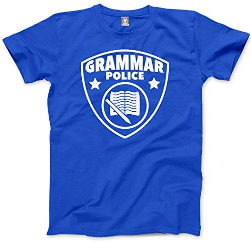 Grammar Police - Funny English Language - Mens Unisex T-Shirt