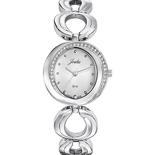Joalia-633343-Orologio da donna con cinturino in metallo con quadrante, colore: argento
