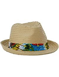 Kaporal CAPIOE17M01, Fedora Homme, Blanc (Off White), Taille Unique (Taille Fabricant: Taille Unique)