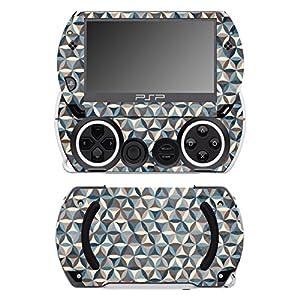 Disagu SF-14232_1228 Design Schutzfolie für Sony PSP Go Motiv Buntes Muster 05″ klar