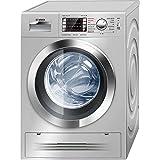 Bosch WVH2847XEP lavadora - Lavadora-secadora (Carga frontal, Independiente, Acero inoxidable, Izquierda, A, B)