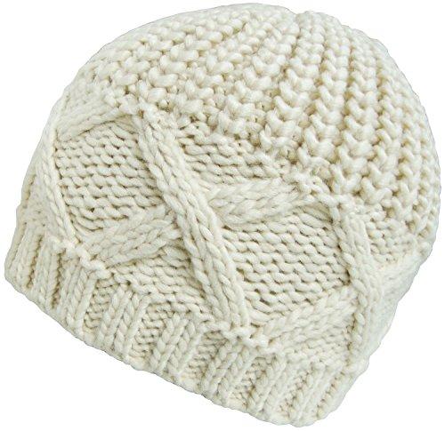 Generic - Bonnet - Femme Multicolore bigarré Taille unique Blanc
