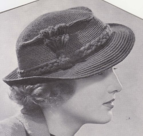 Snap Brim Hat Cap Fedora Crochet Pattern (English Edition)
