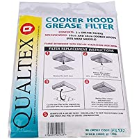 Qualtex Cooker Hood/Extractor Grease Filter (Twin Pack)