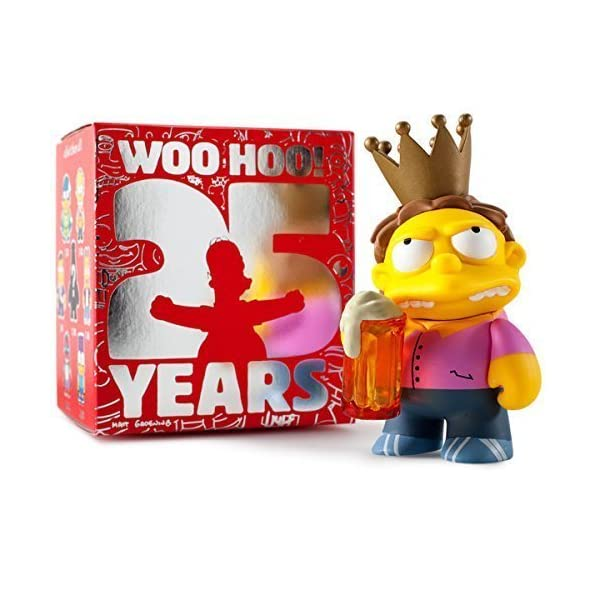 Kidrobot The Simpsons 25th Anniversary Mini Series 3-inch Figure - Plow King by Kidrobot 1