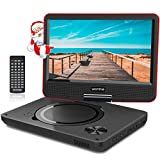 9.5 Inch Portable DVD Player for Kids with Swivel Screen, USB / SD