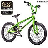KHE BMX Fahrrad Chris BÖHM 20 Zoll patentierter Affix 360° Rotor nur 11,45kg! schwarz grün (grün)