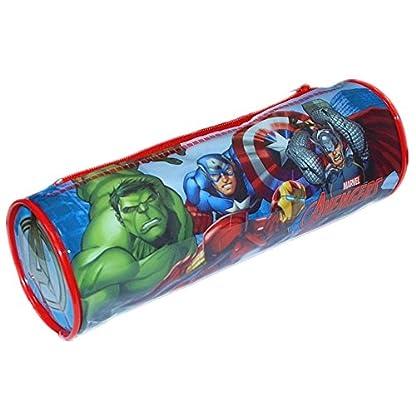 Marvel 7475010pvc redondo de los Vengadores estuche